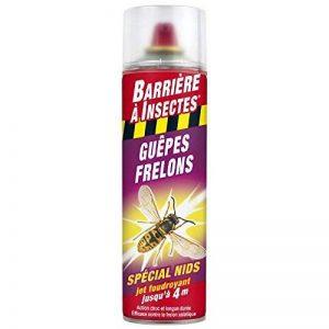 BARRIERE A INSECTES BARGUEPE500 Guêpes, Frelons Spécial Nids 500 ml, Rouge, 6.6 x 6.6 x 24 cm de la marque BARRIERE A INSECTES image 0 produit