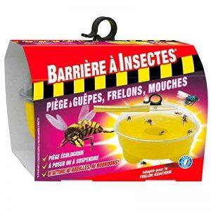 BARRIERE A INSECTES BARPIGUEP Piège à Guêpes, Frelons, Mouches et Moucherons - 1 Piège, Jaune, 20.5 x 20.5 x 18 cm de la marque BARRIERE A INSECTES image 0 produit