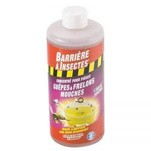 BARRIERE A INSECTES BARPIGUEP500 Appât pour Pièges à Guêpes et Frelons Concentré 500 ml, Jaune, 7 x 7 x 17.5 cm de la marque BARRIERE A INSECTES image 0 produit