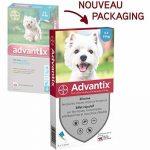 Bayer Advantix Petit chien 4 à 10 kg- 4 pipettes antiparasitaires 1 ml de la marque Bayer image 1 produit