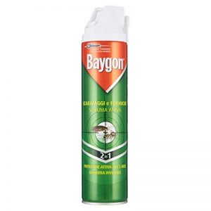 Baygon cafards et fourmis mousse active spray–2pièces de 400ml [800ml] de la marque Baygon image 0 produit