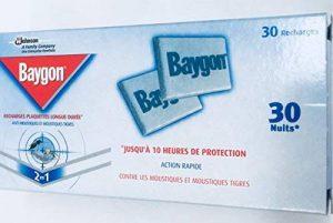 Baygon Insecticide/Recharges pour Diffuseur Électrique en Plaquettes Moustiques/Moustiques Tigres Longue Durée 2 en 1 Pack de 30 - Lot de 4 de la marque Baygon image 0 produit