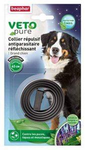 Beaphar VETOpure, collier répulsif antiparasitaire réfléchissant - grand chien - noir de la marque Beaphar image 0 produit