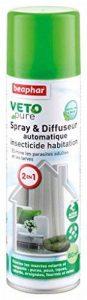 Beaphar VETOpure, spray & diffuseur automatique Insecticide Habitat des Animaux 80 m² - 250 ml de la marque Beaphar image 0 produit