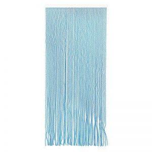 Best Purchase Rideau de Porte Moustiquaire en PVC Bâtonnet D'Aluminium - Made in Espagne - Mesures Standard (90x210) (Bleu et Blanc) de la marque Best Purchase image 0 produit