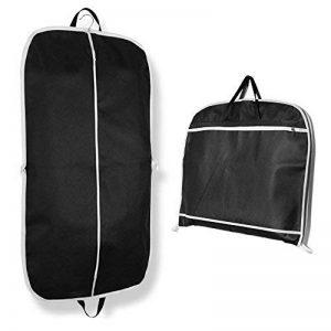 Bidear Foldover respirant Housse Costume Sac de transport avec poignées pour Voyager – Tissu, noir, 110*60cm de la marque Bidear image 0 produit