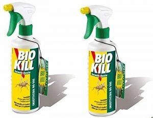 Bio Kill–Insecticide Spray Formule classique 2boîtes de 500ml ● ● ● efficace contre tous les insectes à sang froid Spray contre mouches ● ● ● ● punaises fourmis cafards moustiques de la marque BIO KILL image 0 produit