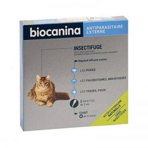 BIOCANINA Insectifuge Naturel Spot-On Chat (2 pipettes 2 ml) de la marque BIOCANINA image 0 produit