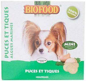 Biofood Mini Friandise Anti-Puces Algue pour Chien 1 unité (100 Pièces) de la marque Biofood image 0 produit