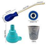 BITEYI Mini Applicateur Distributeur pour Insecticide Pulvérisateur de terre de Diatomée Poudreuse Anti-insectes Volants (Bleu) de la marque BITEYI image 1 produit