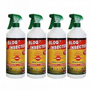 Bloq Insectes lot de 4x1L avec 4 bouchons + 4 Pulvérisateurs de la marque de Stone Guard image 0 produit