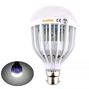 Bonlux B22 UV LED Bug Zapper Ampoule Lampe anti-insectes Lampe anti moustiques Blanc Froid 10W LED Intérieur Extérieur pour la maison Cuisine Garage Porche de la marque Bonlux image 0 produit