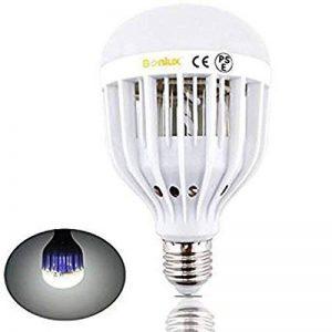 Bonlux E27 10W LED Bug Zapper Ampoule Lampe Anti-insectes anti moustiques Blanc Froid 6000k Base à vis moyen Intérieur Extérieur pour Porche Terrasse Patio Cour arrière Chambre Cuisine de la marque Bonlux image 0 produit