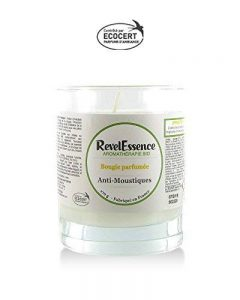 Bougie Parfumée Anti-Moustiques aux Huiles Essentielles Bio Revelessence de la marque Revelessence image 0 produit