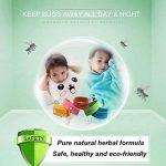 Bracelet anti-moustique -12 packs tous les bracelet anti-moustique naturel bracelet insectifuge bracelets voyage pas de détritus non toxique pour les enfants et les adultes de la marque Kiveta image 3 produit