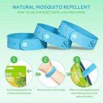 Bracelet anti-moustique 5 et 6 patch,Adultes et Enfants Bracelet moustique, bracelets répulsifs Moustique Bracelet Anti Mouches, Insectes etc de la marque livebetter image 1 produit
