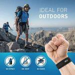 Bracelet Anti Moustique, Lot d'un bracelet anti moustique + clip, 4 recharges GRATUITES, ingrédients naturels garantis sans DEET, non toxique de la marque BEZ image 1 produit