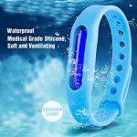 Bracelet anti-moustiques Binwox insectifuge intérieur ou extérieur meilleurs bracelets antiparasitaires avec jusqu'à 90 jours de protection, naturels, sans danger et sans DEET, étanche, bracelet poign de la marque Binwox image 4 produit