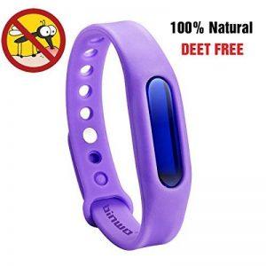 Bracelet anti-moustiques Binwox insectifuge meilleurs bracelets antiparasitaires 90 jours de protection, naturels, sans danger et sans DEET, étanche, bracelet poignet/cheville pour enfants et adultes de la marque Binwox image 0 produit