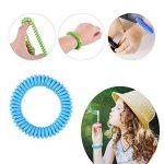 Bracelet anti-moustiques. Bracelets pour enfants et les adultes. Lot de 30, tous naturels, sans DEET. Répulsif. Lot de 36et patchs pour l'extérieur, les voyages, dure jusqu'à 300heures, étanche. de la marque Amison image 3 produit