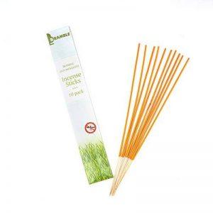 Bramble Anti mosquito Incense sticks - Gentle Fragrance with citronella. 10 packets de la marque Bramble Anti mosquito Incense sticks - Gentle Fragrance with citronella. 10 packets image 0 produit