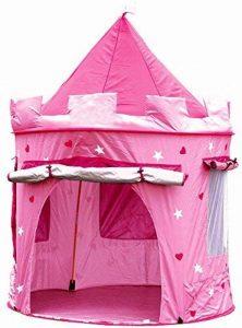 Cabane enfant maison pour fille | CHATEAU DE PRINCESSE | jardin ou intérieur | Tente de Jeu, jouet Pop Up, rose de la marque Cabane enfant image 0 produit