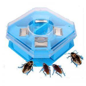 Caleçon Trappes Boîte Cockroach Bug Roach Catcher Cockroach Killer Insectes Bugs Trappes d'appât Efficace Pesticide Cuisine Restaurant Plastique réutilisable Non toxique Eco de la marque SZH-POD image 0 produit