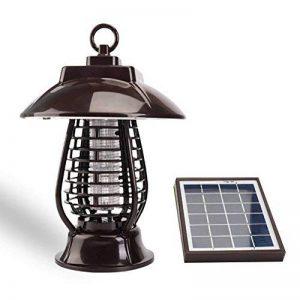Caryan Énergie solaire insectes Zapper, fonctionne à l'énergie solaire Street lumière insectes Bug Killer, extérieur, Lanterne pour les moustiques, les moustiques, les insectes nuisibles et autres insectes de la marque CARYAN image 0 produit