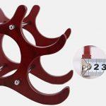 Casier à vin Porte-bouteilles en bois Creativity Ménage Couleur Redwood Porte-bouteilles Longueur 29 × Large 16 × Hauteur 22cm de la marque CXQ image 2 produit