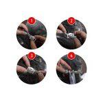 CAT Collier de puces et tiques–Peigne gratuit pour enlever les puces et la saleté–Meilleur Traitement naturel pour animal domestique protection par Bingpet de la marque BingPet image 4 produit