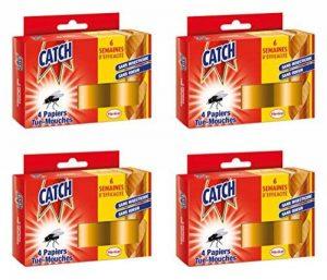 CATCH Papier Tue-mouche 4 Rouleaux - Lot de 4 de la marque Catch image 0 produit