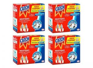 Catch Recharges Diffuseur Electrique Liquide Maxi Format - Lot de 4-90 Nuits de la marque Catch image 0 produit