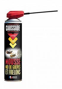 Caussade CAMOUSA500 Mousse Destruction Nids de Guêpes et Frelons - Aerosol 500 ml, Jaune, 5 x 5 x 22.5 cm de la marque Caussade image 0 produit