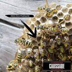 Caussade CAMOUSA500 Mousse Destruction Nids de Guêpes et Frelons - Aerosol 500 ml, Jaune, 5 x 5 x 22.5 cm de la marque Caussade image 1 produit