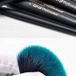 CHENG MSQ 10 Pcs Maquillage Brosses Set Fiber De Cheveux Foudre Poudre Fondation Fard À Paupières Sourcils Lèvres Pinceaux Cosmétiques Maquillage Outils Avec Sac D'artiste de la marque CHENG image 1 produit