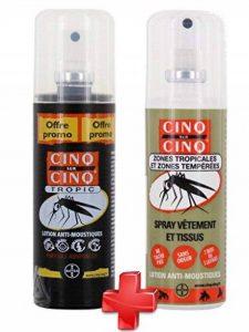 Cinq sur Cinq - Kit Haute protection contre les Moustiques Spray Tropic 100 ml + Spray Vètement 100 ml de la marque Cinq sur Cinq image 0 produit