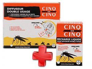 Cinq sur Cinq - Kit protection contre les Moustiques pour la Maison - Cinq sur Cinq Diffuseur Double Usage + Cinq sur Cinq Recharge Liquide 50 nuits de la marque Cinq sur Cinq image 0 produit