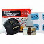 Cinq sur Cinq - Kit protection contre les Moustiques pour la Maison - Cinq sur Cinq Diffuseur Double Usage + Cinq sur Cinq Recharge Liquide 50 nuits de la marque Cinq sur Cinq image 3 produit