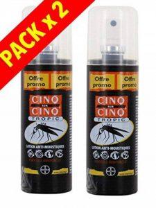 Cinq sur Cinq - Protection contre les Moustiques Spray Tropic 100 ml - Lot de 2 x 100ml de la marque Cinq sur Cinq image 0 produit