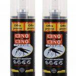 Cinq sur Cinq - Protection contre les Moustiques Spray Tropic 100 ml - Lot de 2 x 100ml de la marque Cinq sur Cinq image 1 produit