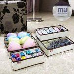 CITY Tiroir range-placards Bra sous-vêtements chaussettes boîtes de rangement (lot de 4) de la marque CITY image 4 produit