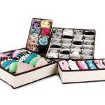 CITY Tiroir range-placards Bra sous-vêtements chaussettes boîtes de rangement (lot de 4) de la marque CITY image 1 produit