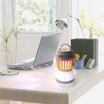 Cmno solaire Zapper Bug Mosquito Killer avec Nuit Lanterne Tente de camping lampe Pest/insectes Contral construire d'étanchéité en panneau solaire et rechargeable USB chargement LED pour intérieur ou extérieur de la marque Cmno image 6 produit