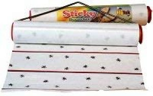 Collant Fly Catcher Sticky Rouleau de 9mt Longueur Fly papiers Les mouches et insectes de contrôle de la marque Ascott image 0 produit