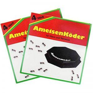 com-four 8x fourmis à fourmis pour un contrôle fiable des fourmis (08 pièces - appâts de fourmi) de la marque com-four image 0 produit