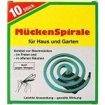 com-four Jeu de 20 moustiques en spirale anti-moustique Moustique en forme de moustique avec 4 supports de la marque com-four image 1 produit