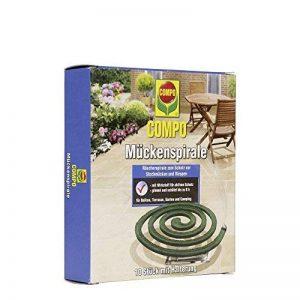 Compo spirale anti-moustiques lot de 10, Vert, 2,9x 12,4x 14.1cm de la marque Compo image 0 produit