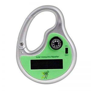 Contrôle mobile Portable solaire ultrasons anti-moustique répulsif anti-moustique pour le voyage en plein air de la marque Gosear image 0 produit