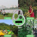 Contrôle mobile Portable solaire ultrasons anti-moustique répulsif anti-moustique pour le voyage en plein air de la marque Gosear image 4 produit