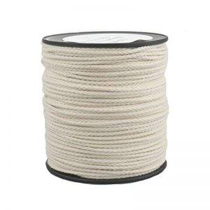 Corde Cordage en Coton 2mm 100m Blanc Crème tressé de la marque Kanirope image 0 produit